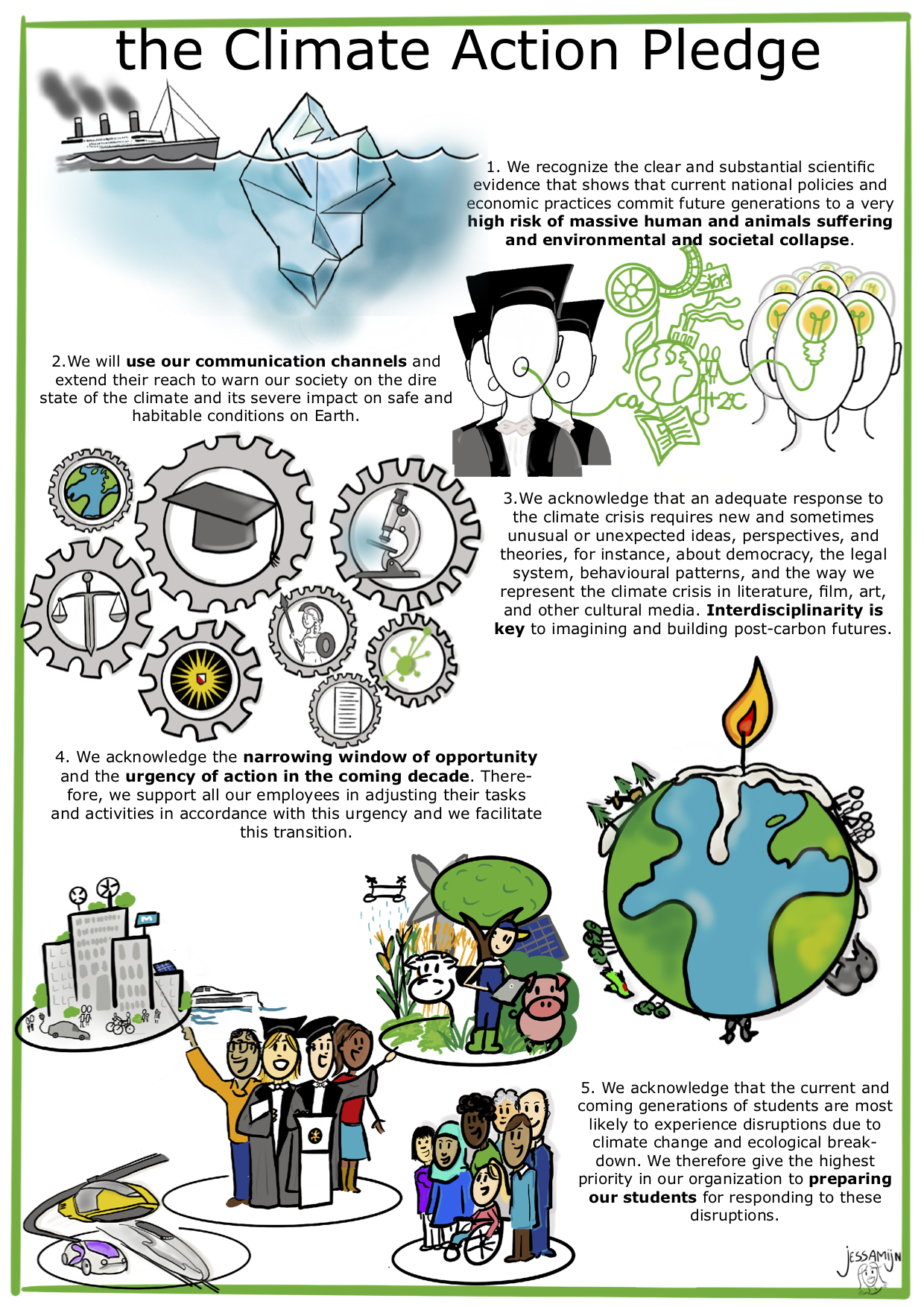 UYA climate pledge